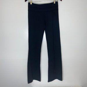 Lululemon 6 Wide Leg Black Pants